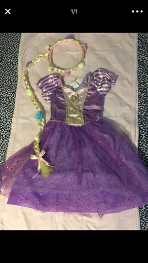 Rapunzel tangled costume disfraz for Sale in Houston, TX