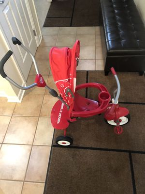 Radio Flyer 4-in-1 Stoller N' Trike, Red for Sale in New Albany, OH