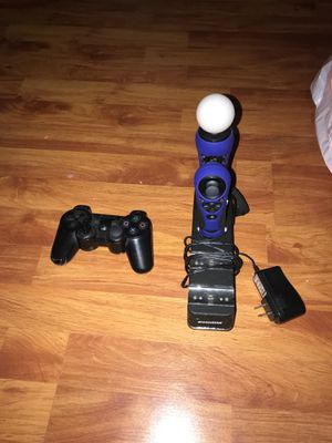 PS3 Controller, 1 Motion Sensor and Charger dock for Sale in Miami, FL