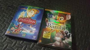 Bambie and Peter pan DVD for Sale in Seattle, WA