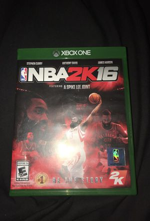 NBA 2k 16 Xbox one for Sale in Chapel Hill, NC