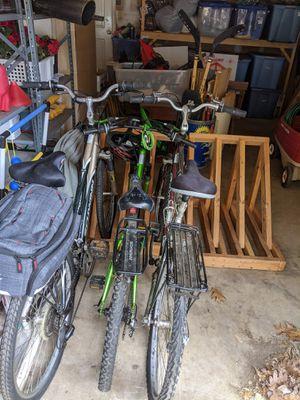 3-bike storage rack for Sale in Burke, VA