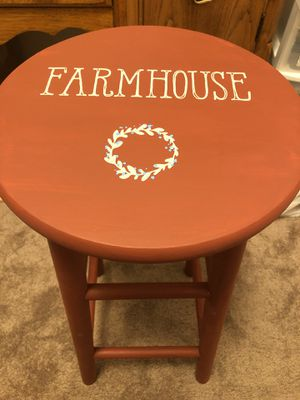 Farmhouse Stool for Sale in Medford, OR