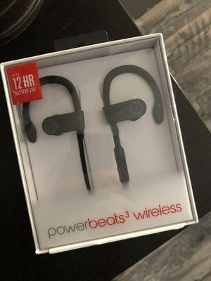 Power beats 3 wireless new for Sale in San Antonio, TX