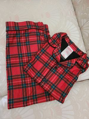 Girl's 2 pieces Flannel pj's size 8 for Sale in Fontana, CA