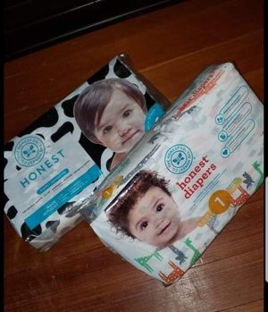 Honest Diapers NEW UNOPENED for Sale in Swampscott, MA
