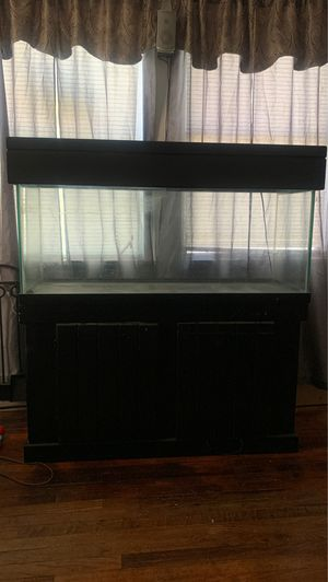 75 gallon with stand and light fixture for Sale in Baton Rouge, LA