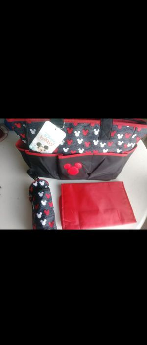 Mickey Mouse Diaper bag $25 for Sale in Alafaya, FL