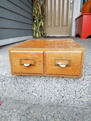 Vintage Weis Card Catalog 1940's for Sale in Puyallup, WA