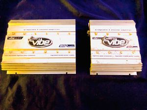 Lanzar Amplifiers Set for Sale in Sanger, CA