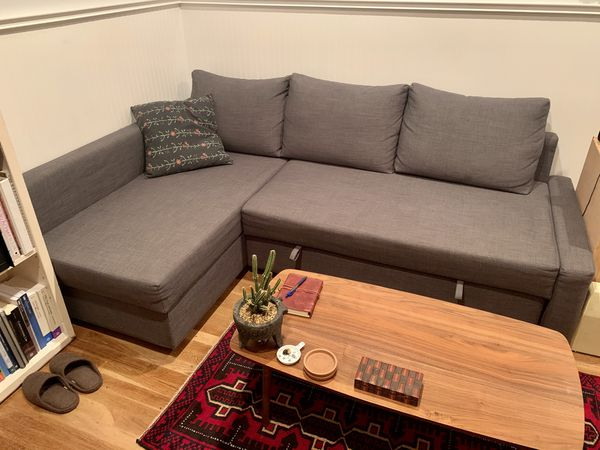 PENDING PICKIP - IKEA Grey Pullout Couch