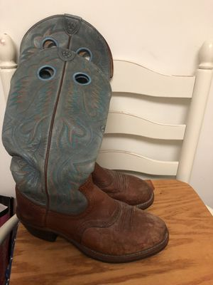 Men boots leather for Sale in Annandale, VA