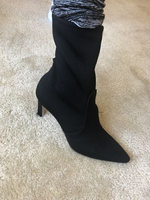 Stuart Weitzman fabric new boots size 6 SALE for Sale in Gaithersburg, MD