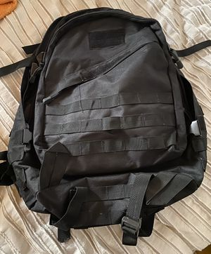 Good Used Condition Black Tactical Men's Backpack Unisex for Sale in Paramount, CA