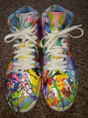 Mens Custom Colorful Air Jordan Retro 1 for Sale in Jacksonville, FL