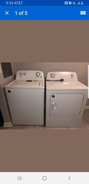 Amana Washer and Dryer for Sale in Clyde, TX