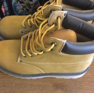 Tan work boots for Sale in Lynnwood, WA