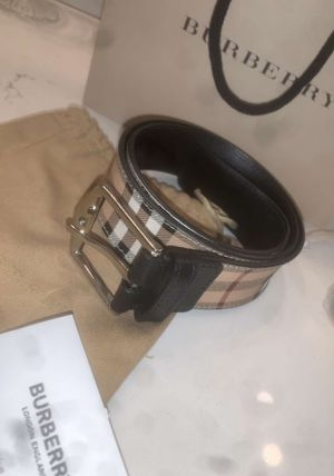 Burberry belt 28-32 for Sale in Moreno Valley, CA