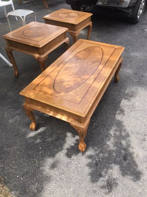 Coffee table/end tables for Sale in Saco, ME