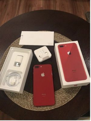 iPhone 8 Plus 64GB Unlocked Product Red Open To Trades for Sale in Tampa, FL