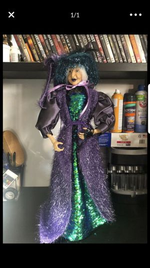 Halloween Decor Witch Doll for Sale in Whittier, CA