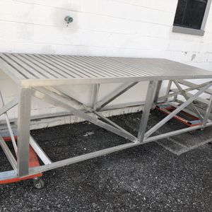 Aluminum Stage With Stair Case for Sale in Frederick, MD