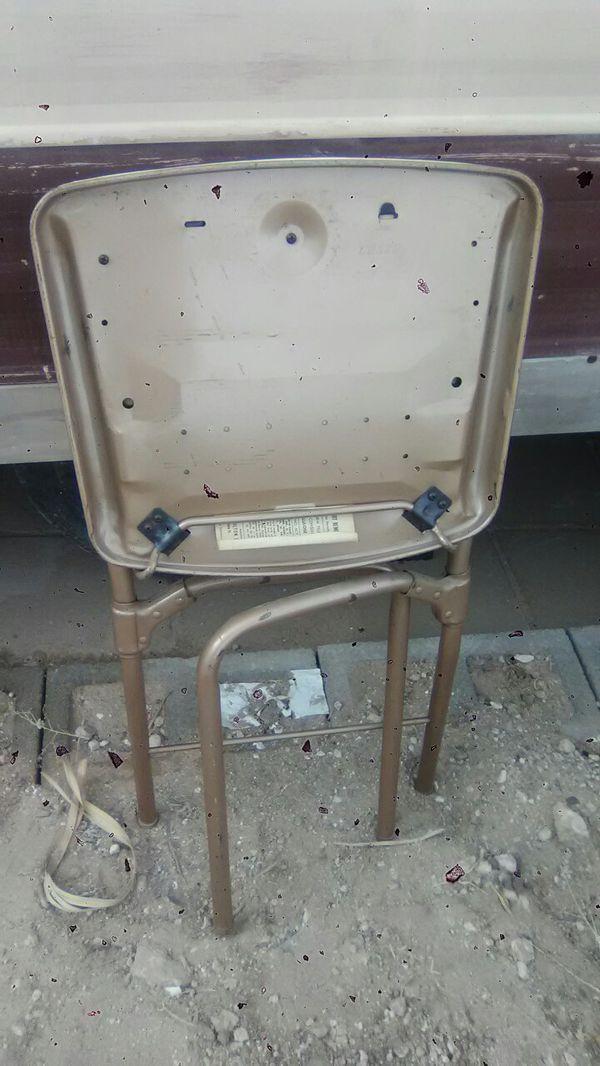Excellent Vintage Hamilton Cosco 1955 Folding Chair All Original For Creativecarmelina Interior Chair Design Creativecarmelinacom