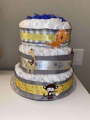 Huggies diaper cake size 2 (76 count) for Sale in San Jose, CA