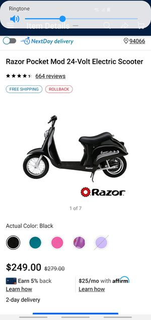 New electric scooter for Sale in Suisun City, CA