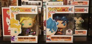 Dragon Ball Z Super Saiyan 2 Gohan & Metallic SSGSS Goku Kamehameha for Sale in North Bergen, NJ