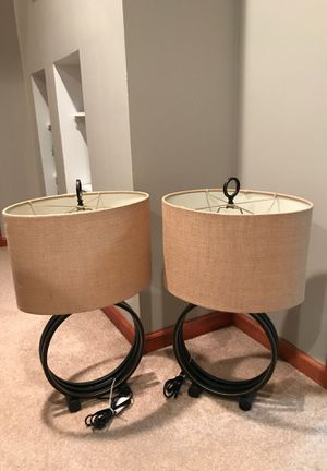 Oil Rubbed Bronze Lamps! for Sale in St. Louis, MO