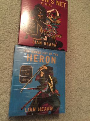 Heaven's Net Is Wide by Lian Hearn 2007 CD's Unabridged audio book lot for Sale in Hollywood, FL
