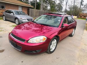 2007 CHEVY IMPALA LTZ, CLEAN TITLE,NEAT LEATHER INTERIOR,COLD AC,169K MILES for Sale in Houston, TX