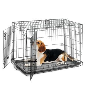"""24"""" Medium size dog crate double doors cage 24""""x17""""x20"""" for Sale in Ontario, CA"""