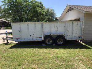 2008 Heavy duty utility trailer for Sale in Plano, TX