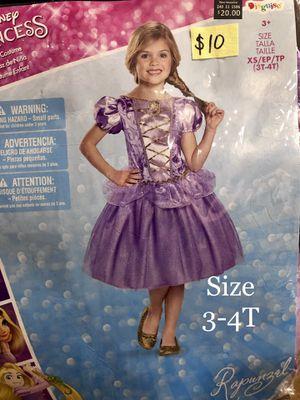 NEW Rapunzel Halloween Costume size 3-4T for Sale in Phoenix, AZ