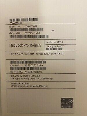 Apple Mac book pro 15 for Sale in Atlanta, GA