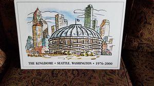 Dated Seattle Kingdom print! for Sale in Auburn, WA