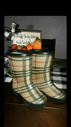 Burberry rain boots for Sale in Houston, TX