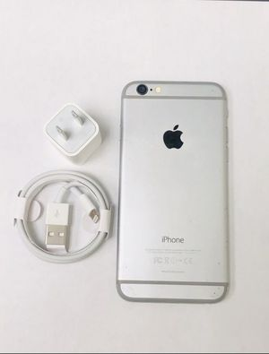 """iPhone 6 64GB FACTORY UNLOCKED"""" Like new with warranty for Sale in Silver Spring, MD"""