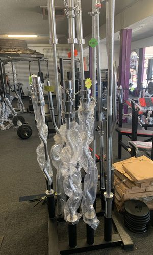 Olympic curl bar for Sale in Compton, CA