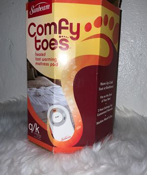 Sunbeam queen/king heated foot mattress pad for Sale in Fresno, CA