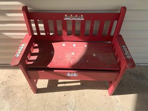 Cute Red Bench for Sale in American Fork, UT