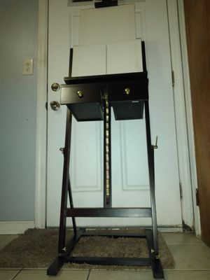 Art Easel Stand with Drawers for Sale in Zephyrhills, FL
