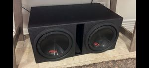 """Two Alpine Type R 12"""" Subs in Box for Sale in Chicago, IL"""