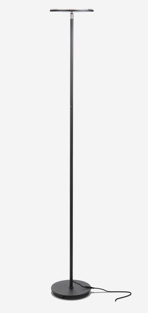 SKY Flux - Super Bright LED Torchiere Floor Lamp for Living Room - black for Sale in Rowland Heights, CA