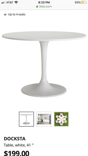 White Tulip dining table for Sale in Bend, OR