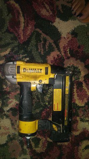 Dewalt nail gun 18 gauge for Sale in Watauga, TX