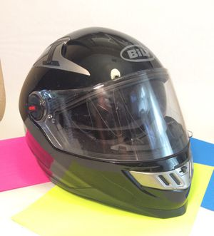 Newer BILT helmet with disconnected Bluetooth/speaker system and scratches with bag...sold as is! for Sale in Modesto, CA