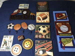 Sports decor for Sale in Fort Worth, TX